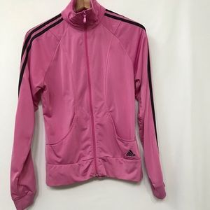 ADIDAS JACKET PINK SIZE S TRUE TO SIZE